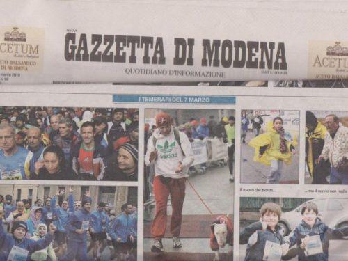 GAZZETTA DI MODENA – MARZO 2010