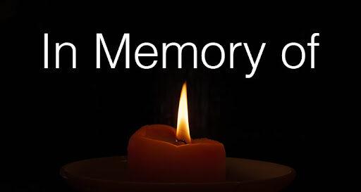 IN MEMORY OF…un caro abbraccio alle loro famiglie